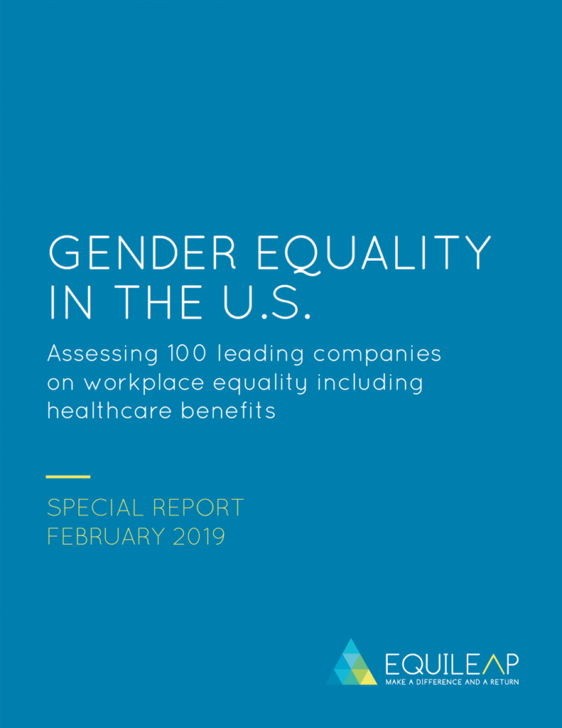 2019 Gender Equality in the US