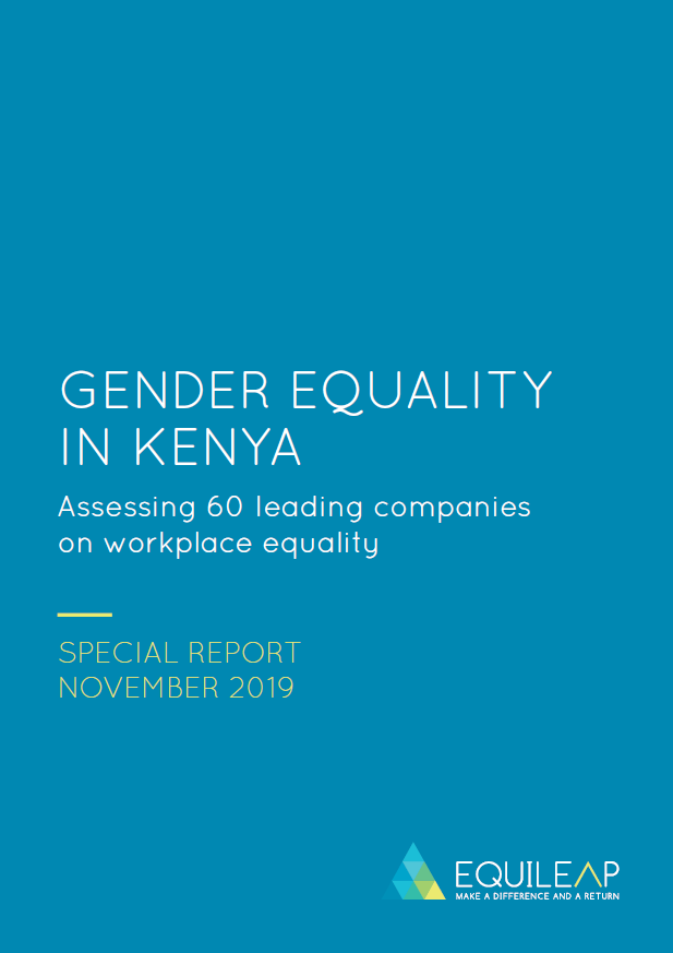 2019 Gender Equality in Kenya