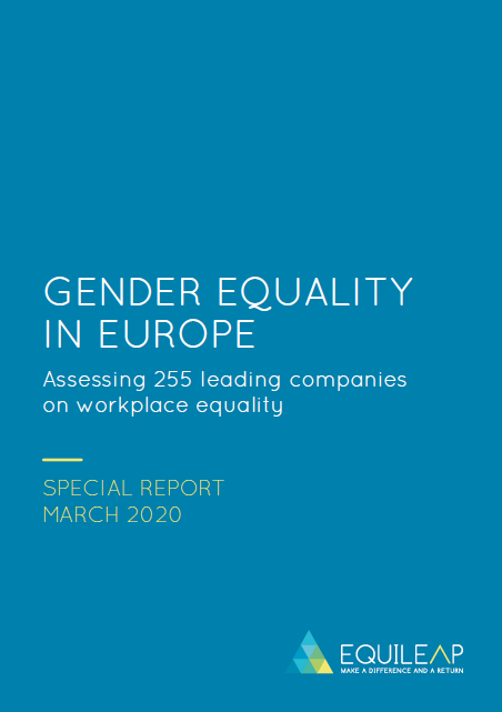 2020 Gender Equality in Europe