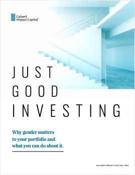 Just Good Investing: Why gender matters to your portfolio and what you can do about it