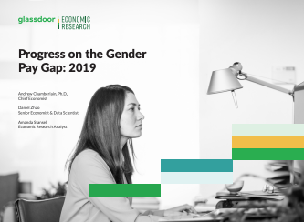 Progress on the Gender Pay Gap: 2019